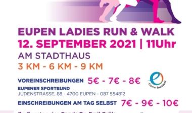 Streckenposten für Eupen Ladies Run & Walk gesucht image news emja.be