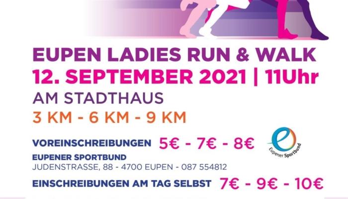 Streckenposten für Eupen Ladies Run & Walk gesucht angebote emja