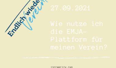 Zusammenfassung des EMJA-Workshops und der Nutzung der Website image news emja.be