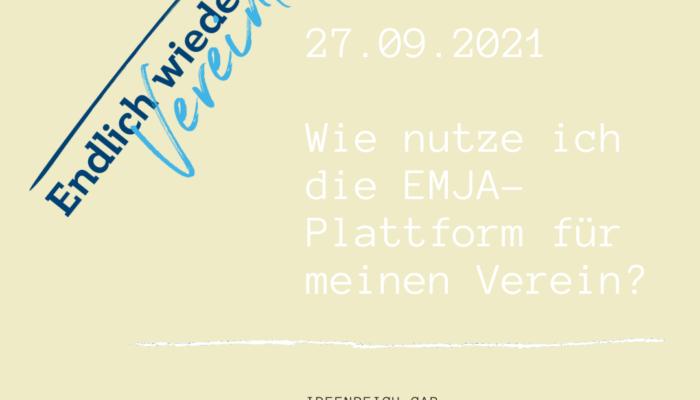Zusammenfassung des EMJA-Workshops und der Nutzung der Website angebote emja